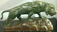 Art Deco Tiger Signed Rousseau