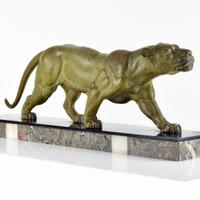 Art Deco Panther by D.H.Chiparus Signed