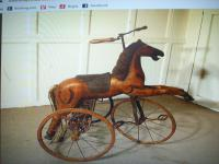 A Victorian Child's Horse Cycle--Original Condition. Rideable and Very RAre! (12 of 14)