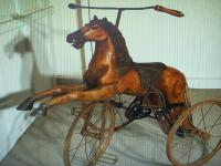 A Victorian Child's Horse Cycle--Original Condition. Rideable and Very RAre! (13 of 14)