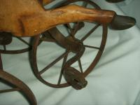 A Victorian Child's Horse Cycle--Original Condition. Rideable and Very RAre! (6 of 14)