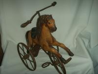 A Victorian Child's Horse Cycle--Original Condition. Rideable and Very RAre! (7 of 14)