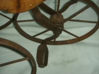 A Victorian Child's Horse Cycle--Original Condition. Rideable and Very RAre! (11 of 14)