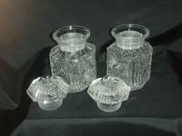 Jam or Marmalade? Nice Twin Preserve Jars in Holder with Spoon (8 of 8)