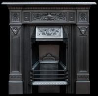 Original Victorian Fireplace 1894. Refurbished & Polished (8 of 9)