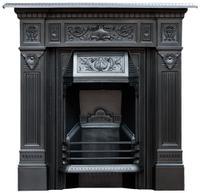 Original Victorian Fireplace 1894. Refurbished & Polished (4 of 9)