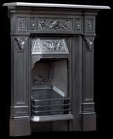 Original Victorian Fireplace 1894. Refurbished & Polished (2 of 9)