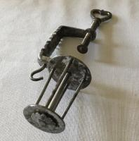Steel Sewing Clamp & Reel - Regency Period