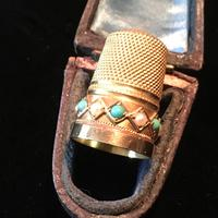 Gold Thimble - 15ct Tested c.1890