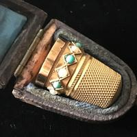 Gold Thimble - 15ct Tested c.1890 (2 of 4)