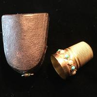 Gold Thimble - 15ct Tested c.1890 (4 of 4)
