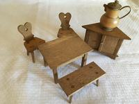 Victorian Doll's Furniture - Large Quantity (2 of 9)