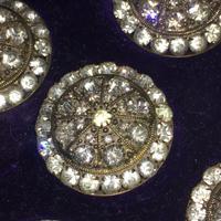 Vinaigrette - Blue Overlay Glass & Silver c.1870 (3 of 5)