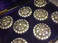 Stunning Set of Paste Buttons c.1900 (5 of 7)