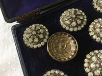Stunning Set of Paste Buttons c.1900 (4 of 7)