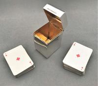 Gorgeous Edwardian Silver Boxed Double Patience Set