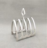 Attractive Four Slice Silver Toast Rack (2 of 3)