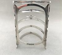 Attractive Four Slice Silver Toast Rack (3 of 3)