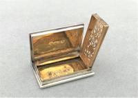 Fabulous Silver Novelty 'Book' Vinaigrette (5 of 5)