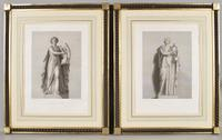 """""""Le Grand Tour"""" Classical Subject Engravings"""