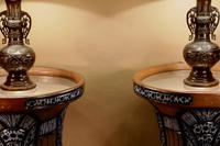 """Pair of Very Rare & Impressive Decorative Art Deco Large Pottery """"Gres"""" Jardinières Eliminated, Side Tables (11 of 11)"""