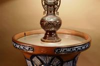 """Pair of Very Rare & Impressive Decorative Art Deco Large Pottery """"Gres"""" Jardinières Eliminated, Side Tables (10 of 11)"""