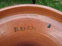 """Pair of Very Rare & Impressive Decorative Art Deco Large Pottery """"Gres"""" Jardinières Eliminated, Side Tables (3 of 11)"""