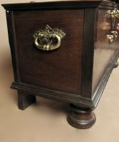 Dutch Colonial Hard Wood Chest with Brass Mounts (3 of 5)