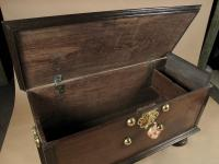 Dutch Colonial Hard Wood Chest with Brass Mounts (5 of 5)