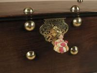 Dutch Colonial Hard Wood Chest with Brass Mounts (2 of 5)