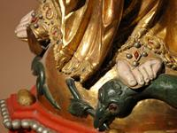 Beautiful Finely Carved and Original Gilded Madonna & Child (11 of 15)
