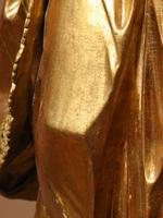 Beautiful Finely Carved and Original Gilded Madonna & Child (10 of 15)