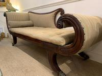 Regency Scroll-End Chaise Lounge