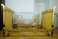French Directoire Bed with Matching Chairs c.1890