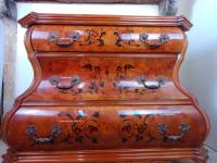Dutch Bombe, Baroque Style Chest of Drawers (3 of 8)
