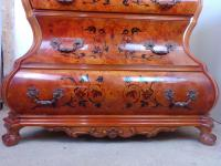 Dutch Bombe, Baroque Style Chest of Drawers (7 of 8)