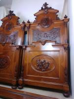 Italian Neo Renaissance Super King Bed **Rare** (3 of 9)