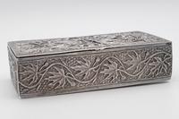 Antique Indian Silver Casket / Box