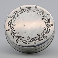 Georgian Silver Patch or Token Box