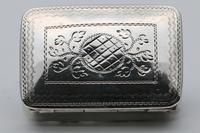 William IV Silver Vinaigrette by Nathaniel Mills (2 of 5)