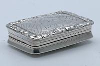 William IV Silver Vinaigrette by Nathaniel Mills (5 of 5)