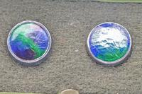 Extremely Rare Set of Liberty & Co Cymric Silver & Enamel Buttons (4 of 6)
