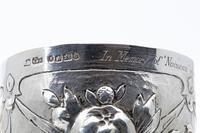Unusual Victorian Silver Beakers (5 of 5)