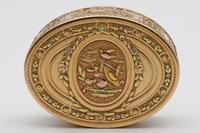 18th Century French Three-Colour Gold Oval Box (5 of 8)
