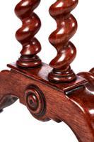 Unusual Large Antique Victorian Carved Oak Planter (4 of 8)