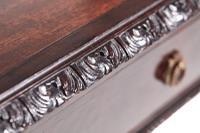 Quality Edwardian Mahogany Freestanding Side Table (4 of 11)