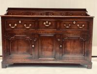 Early 18th Century Oak Welsh Dresser Base c.1700