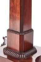 Quality William IV Rosewood Card Table (3 of 14)