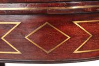 Regency Mahogany Brass Inlaid Card Table (5 of 16)