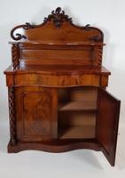 Victorian Mahogany Chiffonier (3 of 8)